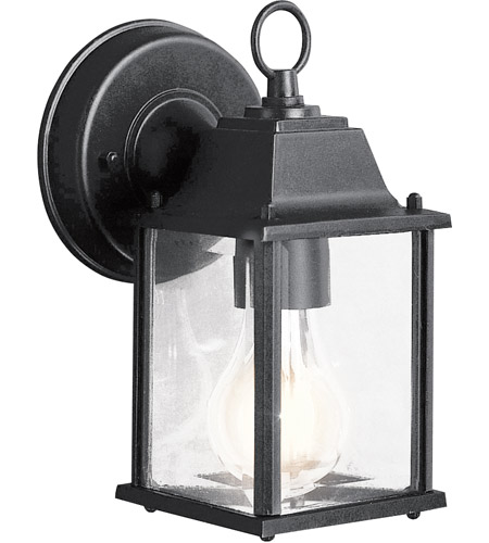 Kichler Lighting Barrie 1 Light Outdoor Wall Lantern in Black 9794BK photo