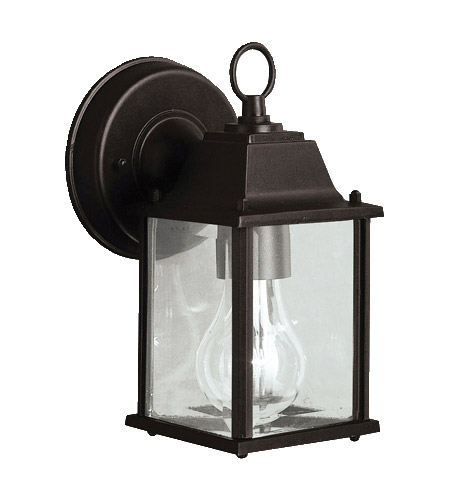 Barrie 1 Light 9 Inch Black Outdoor Wall In Led