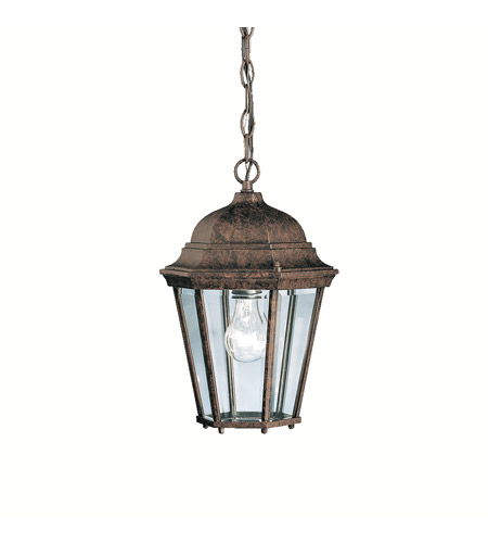 Kichler Lighting Madison 1 Light Outdoor Pendant in Tannery Bronze 9805TZ photo