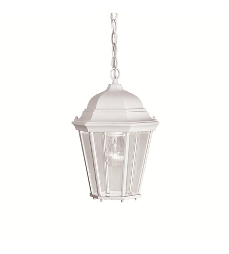 Kichler Lighting Madison 1 Light Outdoor Pendant in White 9805WH photo