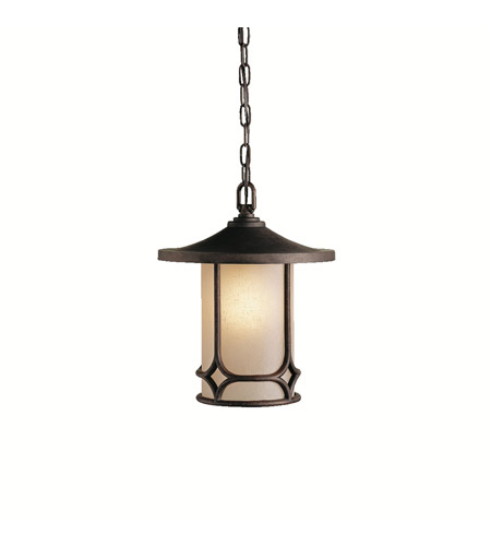 Kichler Lighting Chicago 1 Light Pendant in Aged Bronze 9827AGZ