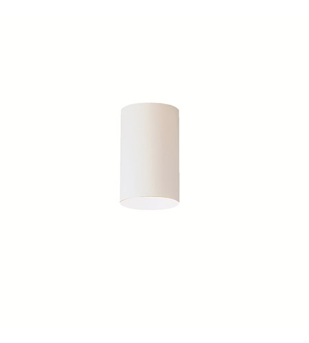 Kichler Lighting Signature 1 Light Outdoor Flush Mount in White 9834WH