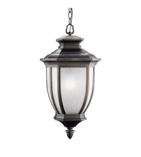 Kichler Lighting Salisbury 1 Light Outdoor Pendant in Rubbed Bronze 9843RZ photo