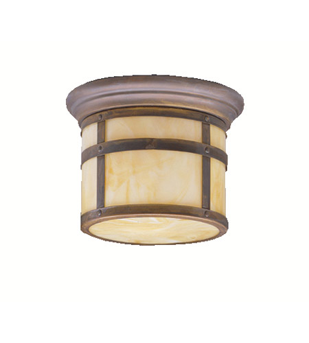 Kichler Lighting Tularosa 1 Light Outdoor Flush Mount in Canyon View 9845CV photo
