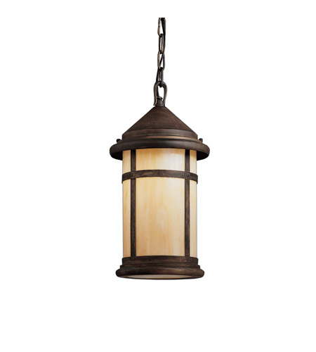 Kichler Lighting Tularosa 1 Light Outdoor Pendant in Canyon View 9846CV
