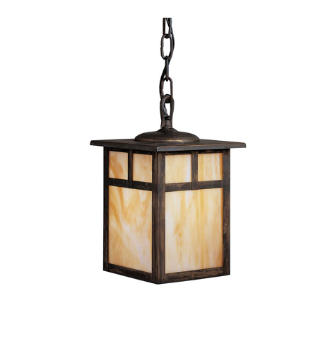 Kichler Lighting Alameda 1 Light Outdoor Pendant in Canyon View 9849CV