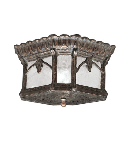 Kichler Lighting Tournai 2 Light Outdoor Flush Mount in Londonderry 9854LD photo