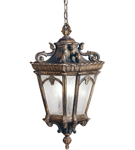 Kichler 9855LD Tournai 3 Light 12 inch Londonderry Outdoor Pendant photo