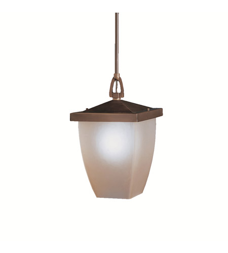 Kichler Lighting Benton 1 Light Outdoor Pendant in Olde Bronze 9869OZ photo