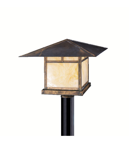 Kichler Lighting La Mesa 1 Light Outdoor Post Lantern in Canyon View 9926CV photo