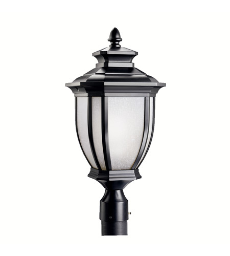 Kichler Lighting Salisbury 1 Light Outdoor Post Lantern in Black 9938BK photo