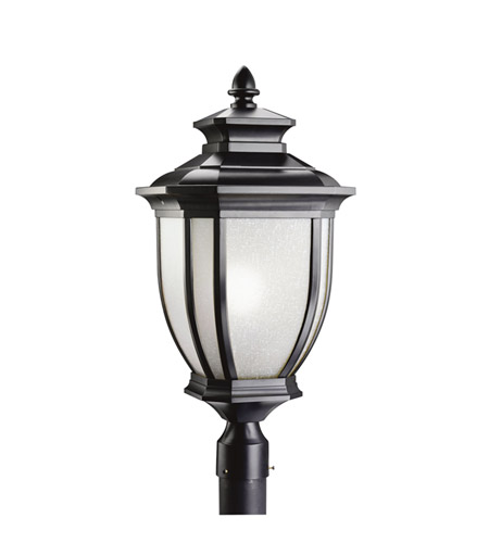 Kichler 9940BK Salisbury 1 Light 26 inch Black Outdoor Post Lantern photo