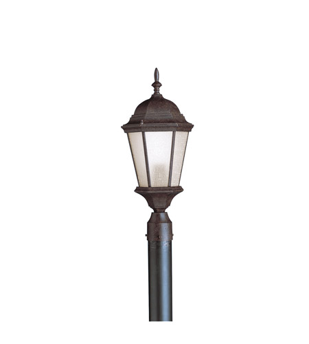 Kichler Lighting Madison 1 Light Outdoor Post Lantern in Tannery Bronze 9956TZ