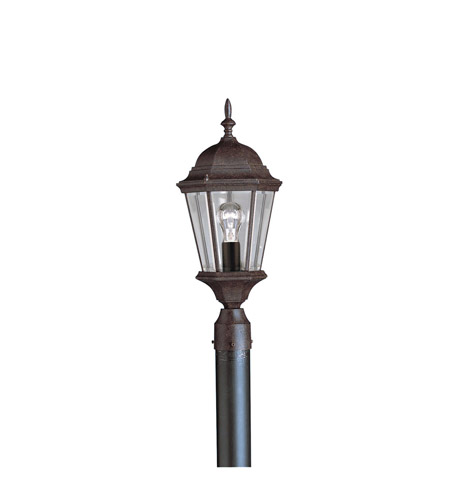 Kichler 9956TZ Madison 1 Light 22 inch Tannery Bronze Outdoor Post Lantern photo