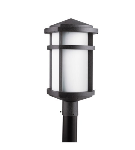 Kichler Lighting Lantana 1 Light Outdoor Post Lantern in Textured Granite 9967GNT