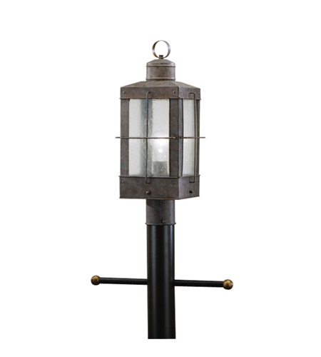 Kichler Lighting Concord 1 Light Outdoor Post Lantern in Olde Brick 9979OB