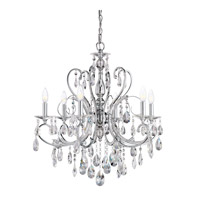 Kichler Lighting Marcalina 6 Light Mini Chandelier in Chrome 1012CH photo thumbnail
