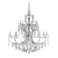 Kichler Lighting Marcalina 12 Light Chandelier in Chrome 1014CH