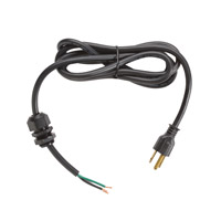 Kichler Lighting Cord and Plug Accessory in Black Material 10193BK