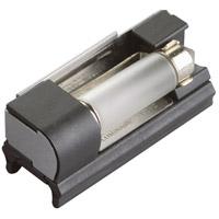 Kichler 10215BK Linear 1 Light 12V Black Track Festoon Socket Ceiling Light