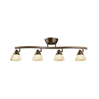Kichler Lighting Fixed Rail LED Rail Lights in Olde Bronze 10325OZ