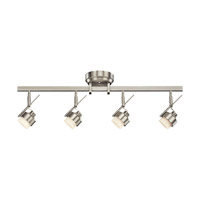 Kichler 10326NI Rail Lighting Brushed Nickel Rail Light Ceiling Light