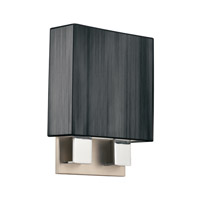 Kichler Lighting Santiago 2 Light Fluorescent Sconce in Brushed Nickel & Chrome 10439NCHB photo thumbnail