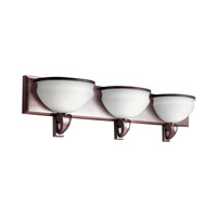 Kichler Lighting Pierson 3 Light Fluorescent Bath Vanity in Royal Bronze 10444RBZ photo thumbnail