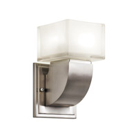 Kichler Lighting Islita 1 Light Fluorescent Sconce in Brushed Nickel 10449NI photo thumbnail