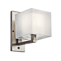 Kichler Lighting Alida 1 Light Fluorescent Sconce in Satin Nickel 10451SN photo thumbnail