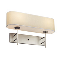 Kichler Lighting Lydon 2 Light Fluorescent Sconce in Satin Nickel 10457SN