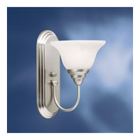 Kichler Lighting Telford 1 Light Fluorescent Sconce in Brushed Nickel 10604NI photo thumbnail