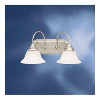 Kichler Lighting Telford 2 Light Fluorescent Bath Vanity in Brushed Nickel 10608NI photo thumbnail