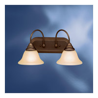Kichler 10608OZ Telford 2 Light 18 inch Olde Bronze Fluorescent Bath Vanity Wall Light