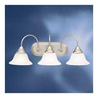 Kichler 10609NI Telford 3 Light 25 inch Brushed Nickel Fluorescent Bath Vanity Wall Light