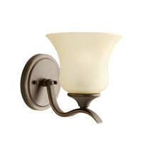 Kichler 10636OZ Wedgeport 1 Light 6 inch Olde Bronze Fluorescent Sconce Wall Light photo thumbnail