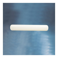 Kichler 10698WH Signature 2 Light 39 inch White Fluorescent Sconce Wall Light
