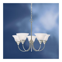Kichler 10704NI Telford 5 Light 25 inch Brushed Nickel Fluorescent Chandelier Ceiling Light alternative photo thumbnail