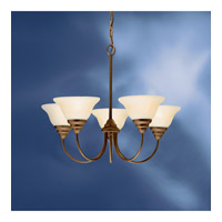 Kichler Lighting Telford 5 Light Fluorescent Chandelier in Olde Bronze 10704OZ alternative photo thumbnail