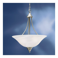 Kichler Lighting Telford 3 Light Fluorescent Pendant in Brushed Nickel 10706NI photo thumbnail