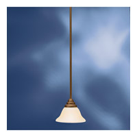 Kichler Lighting Telford 1 Light Fluorescent Pendant in Olde Bronze 10707OZ