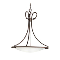 Kichler Lighting Signature 1 Light Fluorescent Pendant in Tannery Bronze 10720TZ photo thumbnail