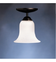 Kichler Lighting Dover 1 Light Fluorescent Pendant in Tannery Bronze 10771TZ
