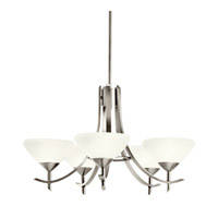 Kichler Lighting Olympia 5 Light Fluorescent Chandelier in Antique Pewter 10776AP
