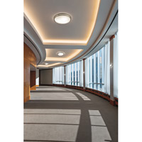 Kichler 10784NILED Signature LED 12 inch Brushed Nickel Flush Mount Ceiling Light alternative photo thumbnail