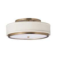 Kichler Lighting Marbrisa 1 Light Fluorescent Flush Mount in Champagne 10806CP