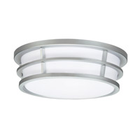 Kichler Lighting Signature 2 Light Fluorescent Flush Mount in Silver Various 10869SI