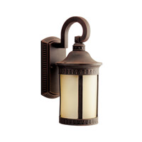 Kichler Lighting Randolph 1 Light Fluorescent Outdoor Wall Lantern in Prairie Rock 10903PR photo thumbnail