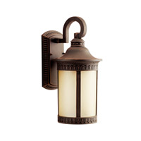 Kichler Lighting Randolph 1 Light Fluorescent Outdoor Wall Lantern in Prairie Rock 10904PR photo thumbnail