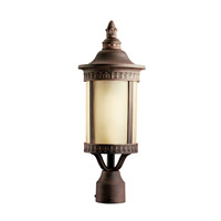 Randolph 1 Light 20 inch Prairie Rock Fluorescent Outdoor Post